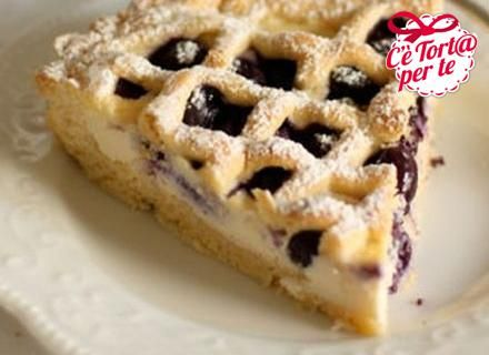 Pizza Crostata Dolce Cherry Ricotta Pie Recipe — Dishmaps