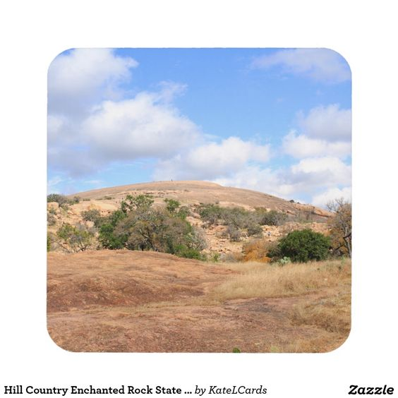 Hill Country Enchanted Rock State Natural Area Tx Drink Coasters