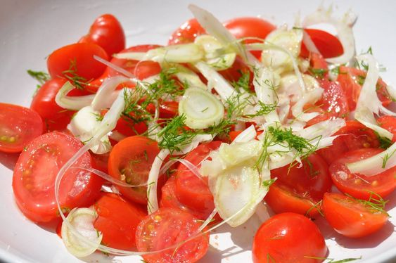Tomato & Fennel Salad Recipe