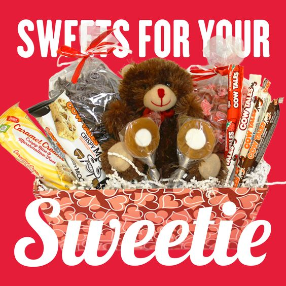 Cow Tales, Caramel Creams, and Caramel Crispy Rice Treats for Valentine's Day! Goetze some sweets for your sweetie!