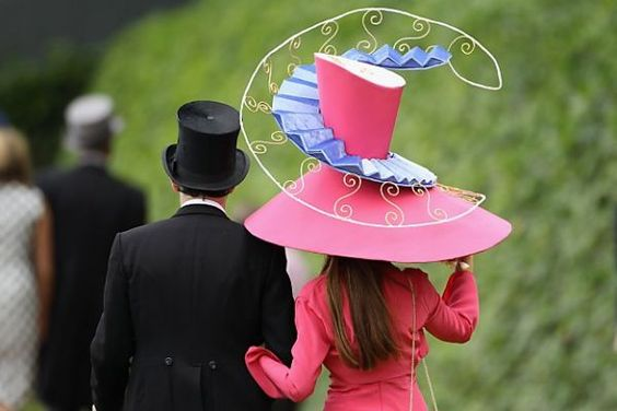 The Crazy Hats of Horse Racing Part 1