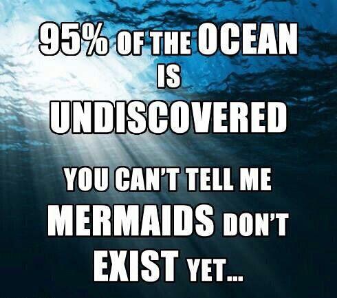 Mermaids do exist!