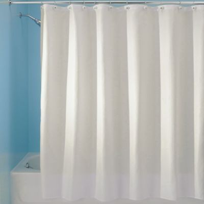 Interdesign 54 X 78 Carlton Fabric Shower Curtain In Natural