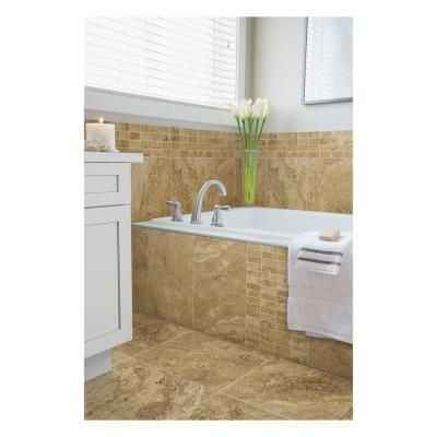 Marazzi Travisano Navona 18 In X 18 In Porcelain Floor And Wall Tile 17 6 Sq Ft Case