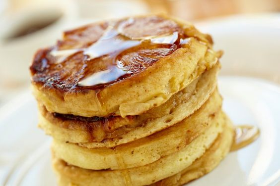 Pineapple upside-down pancakes!