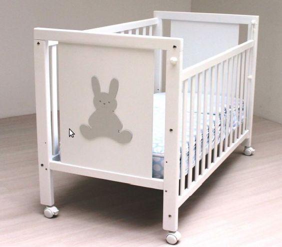 Cuna de bebe lacada blanco Blasi Bed Conejito [800 CONEJO] | 156,00€ : La tienda online para tu peke | tienda bebe pekebuba.com
