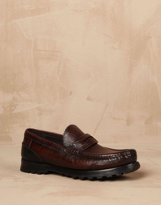 Leather genova loafers Men - Dolce&Gabbana