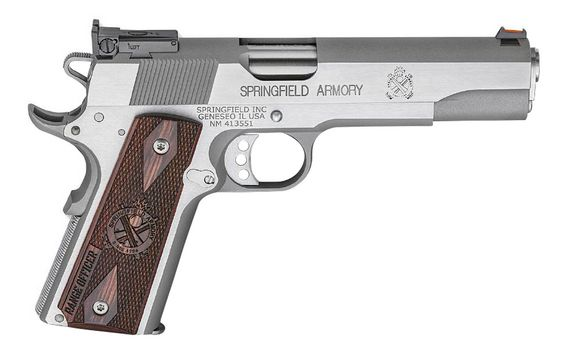 Just received this as a birthday gift. It is a great gun. SPRINGFIELD 1911 RANGE OFFICER 9MM STAINLESS STEEL
