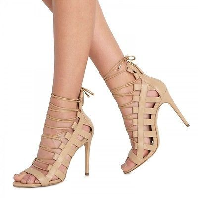 Perfect nude gladiator heels would go with absolutely everything