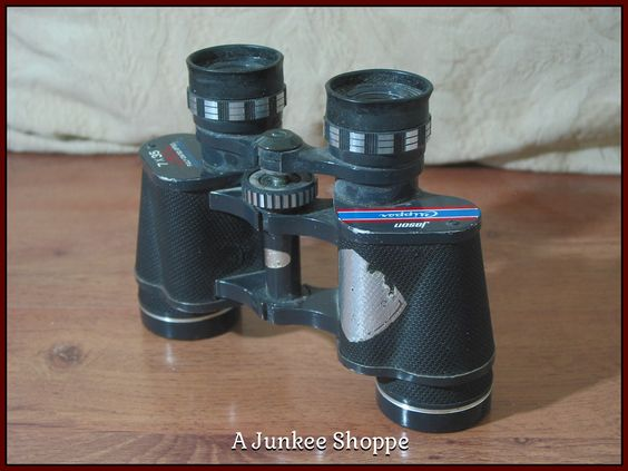 JASON EMPIRE CLIPPER Model 7 x 35 Antique Early 1960's Binoculars Used    Junk0910  http://ajunkeeshoppe.blogspot.com/