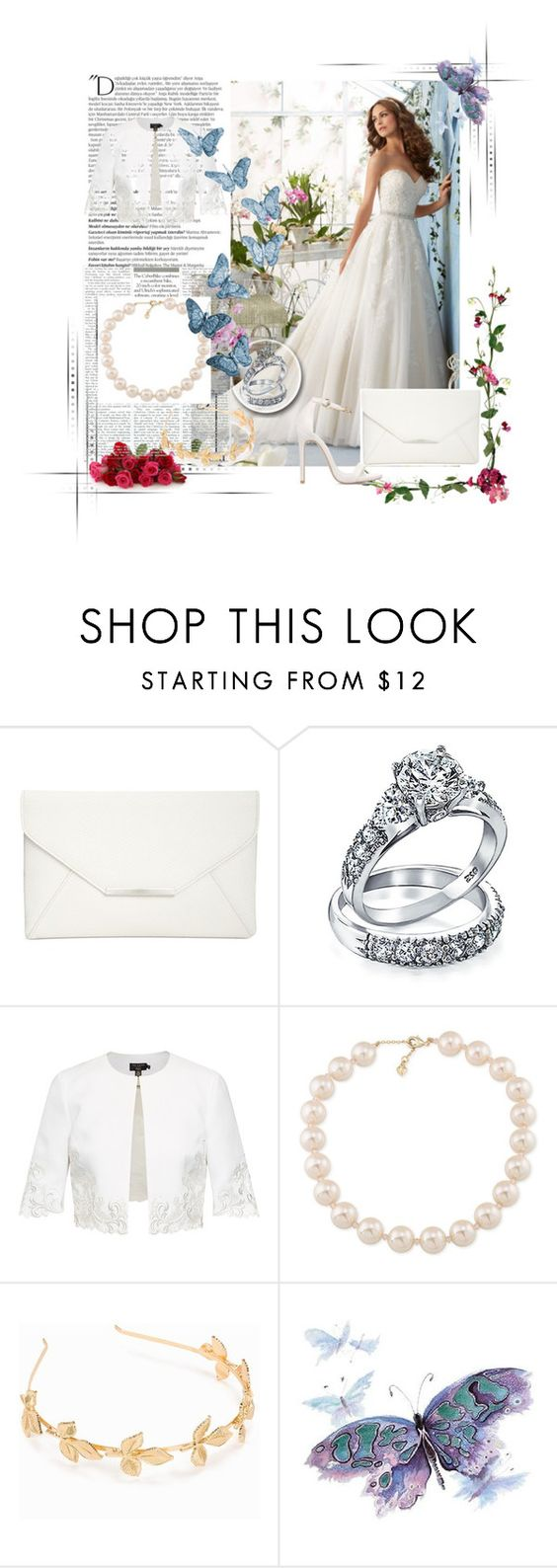 """Bez naslova #16"" by elmat ❤ liked on Polyvore featuring Style & Co., Bling Jewelry, Ted Baker, Carolee, NLY Accessories and Balmain"