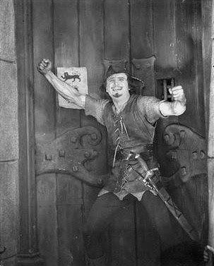Douglas Fairbanks as Robin Hood