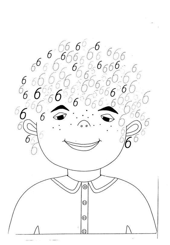 Oefen de cijfers 6