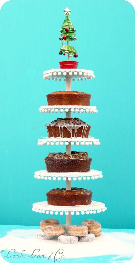 Bundt cake tower