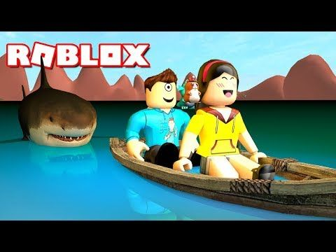 Let S Have A Picnic Roblox Shark Bite W Dollastic Plays
