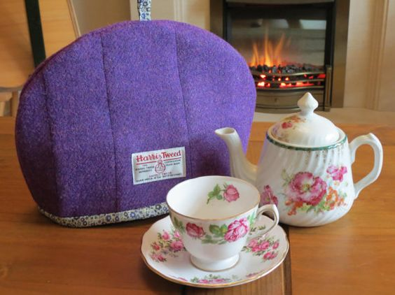 Harris Tweed/Liberty Tea Cosy