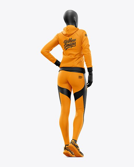 Download Women S Sport Kit Mockup In Apparel Mockups On Yellow Images Object Mockups Clothing Mockup Sports Women Sports