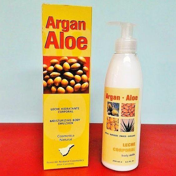 Aloes de Canarias - Body milk argan http://www.cremasdealoevera.es/product/6334