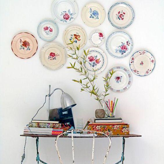 Des Assiettes Décoratives Murales - IDEO