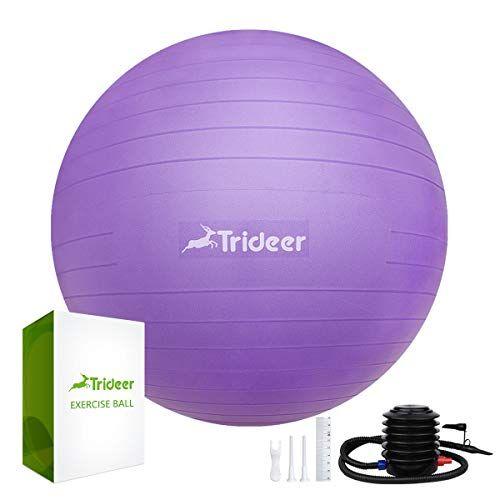 Trideer Hopper Ball Kids Exercise Ball Multifunction Jump Ball Bouncy Ball With Handles Kids Balance Ball And Ball Chair Ball Exercises Birthing Ball Yoga Ball