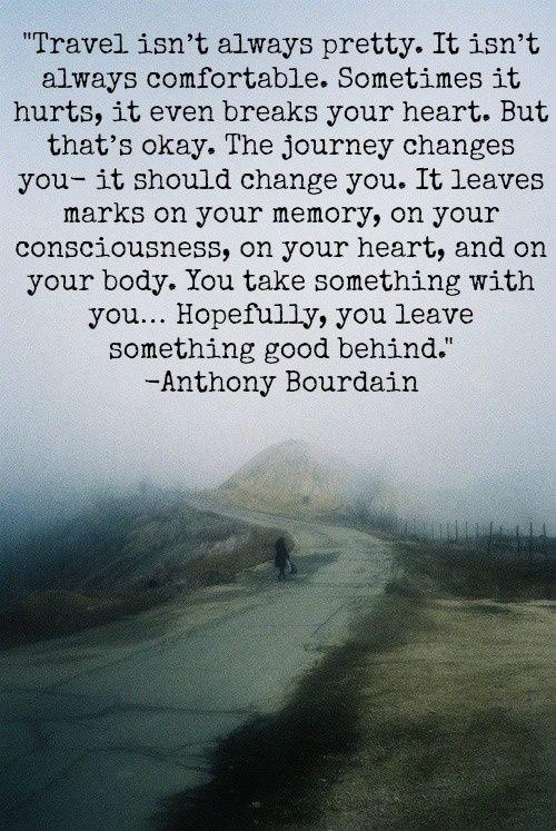 Leave something good behind: