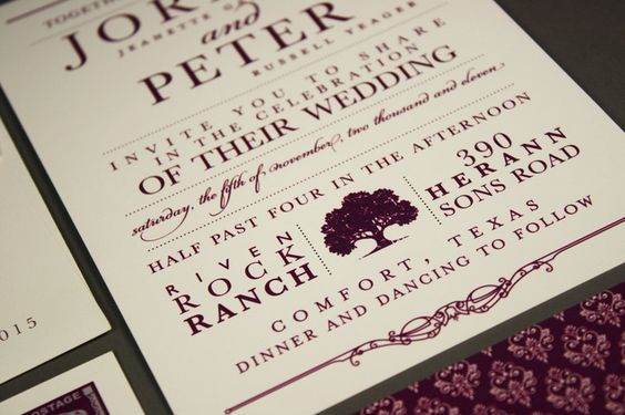 hill country wedding invitations - Google Search