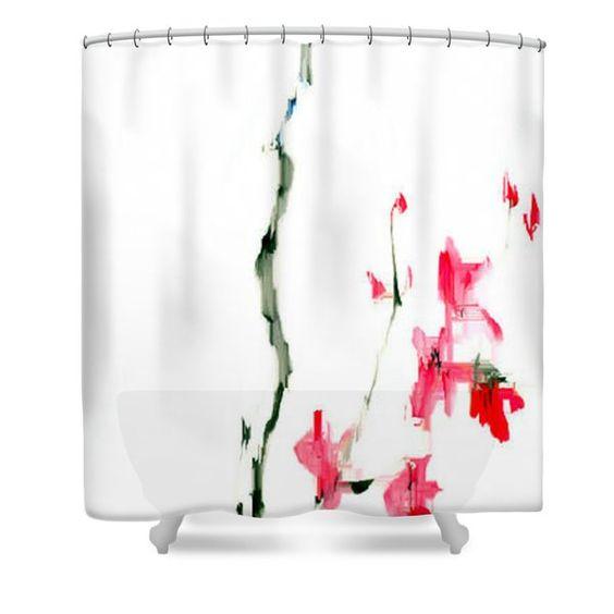 Flower Fantasy 5 Shower Curtain by Rafael Salazar