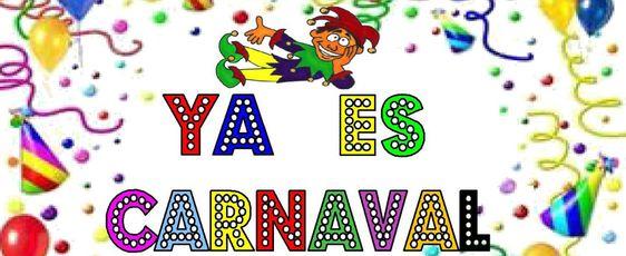 Carteles para decorar en carnaval