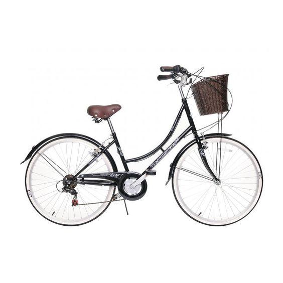 Ammaco Dutch Style Classique Bicycle Bike Basket Dutch Style Bike