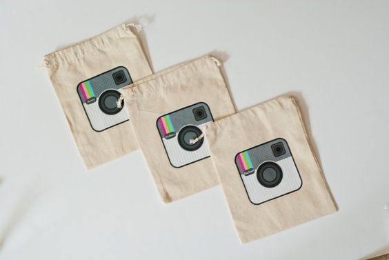instagram party favor bags