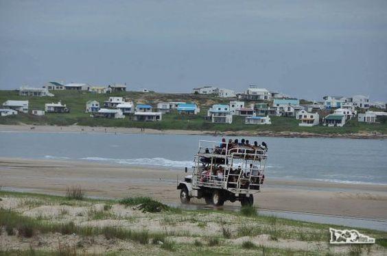 Cabo Polonio, no litoral do Uruguai
