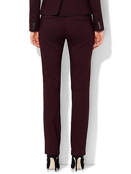 7th Avenue Design Studio - Signature - Universal Fit - Slim-Leg Pant - Diamond…