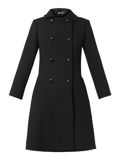 Double-breasted wool-crepe coat   Freda   MATCHESFASHION.COM