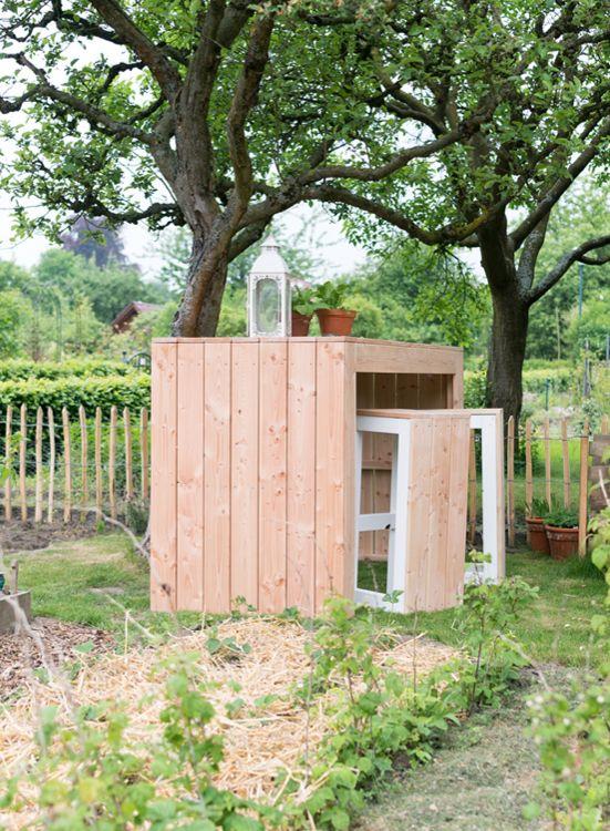 Gartentisch Lotte Create By Obi Tisch Selber Bauen Garten Bartisch Gartentisch