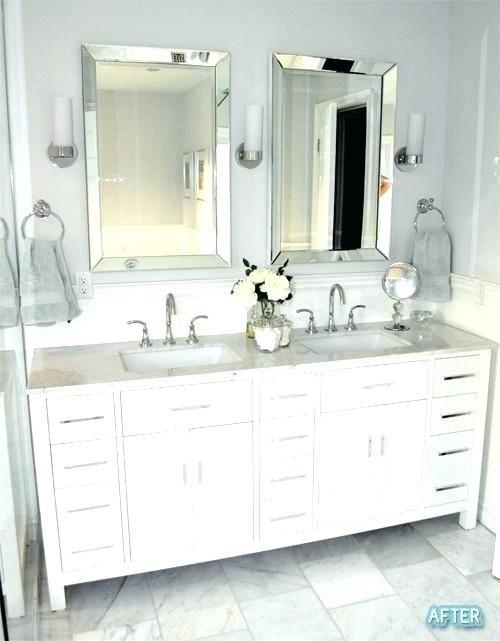 Bathroom Mirror Ideas For Double Vanity In 2020 Double Vanity Bathroom Bathroom Remodel Master Upstairs Bathrooms