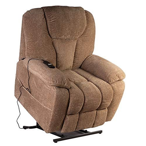 Royal Way Big Tall Electric Power Lift Recliner Chair Classic Comfortable Fabric Lounge For Elderly Ultimate Comfort Liv Recliner Chair Lift Recliners Recliner