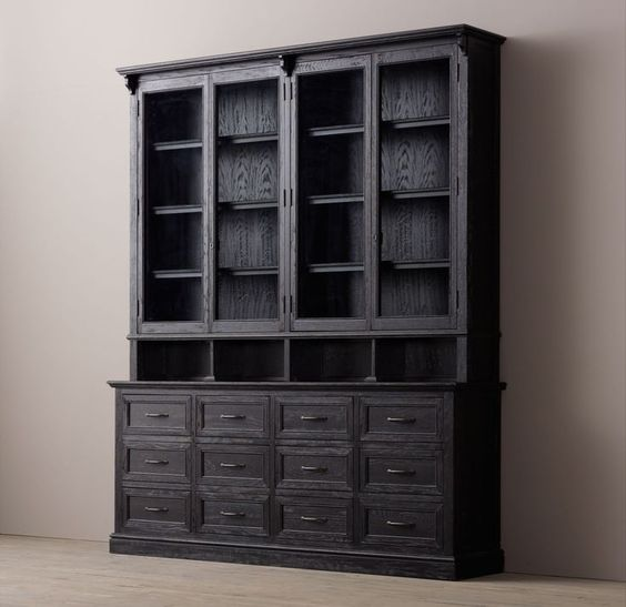 Hardware display cabinets and apothecaries on pinterest - Restoration hardware cabinets ...