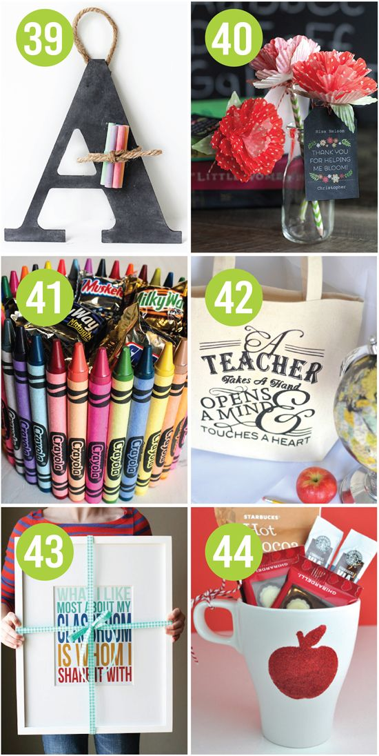 101 quick and easy teacher appreciation ideas gifts for Quick easy gift ideas