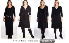 Robe pour femme ronde