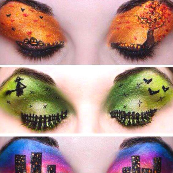 Probably the coolest makeup ever.