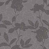 Um padrão de sucesso na parede. Tons cinza claro e escuro, com apontamentos branco marfim