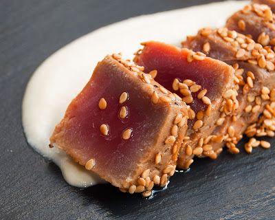 migas y gachas: Tataki de atún #recetas #gastronomia