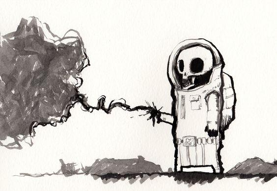 The last cosmonaut on Behance