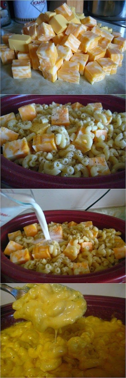 crockpot mac and cheese with bacon