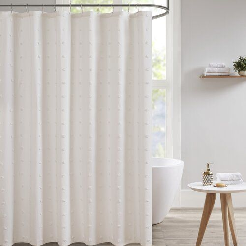 Aiden Cotton Shower Curtain Small House Living Curtains Shower