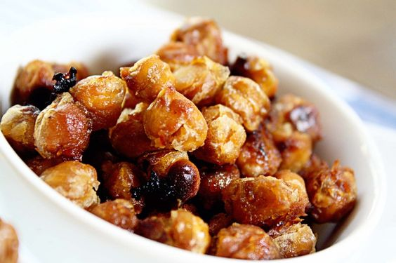 I MADE THESE! I can attest to their deliciousness. I ate the entire batch, but I don't feel like I ate too much. They're filling and as someone who can PLOW through entire bags of snacks, this actually took a while to eat because of the chickpeas' texture. AMAZING