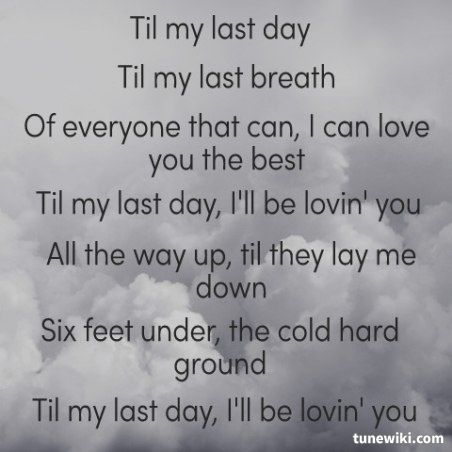 i will love you till my last breath - photo #15