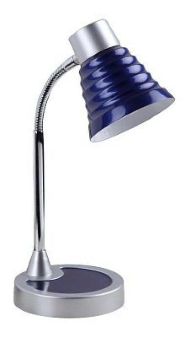 lampa de birou albastra cu gat flexibil ASTRID 4263 marca RabaLux