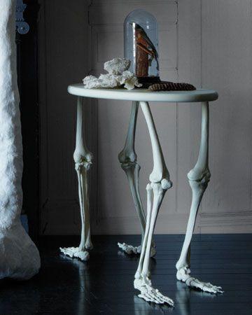 DIY skeleton table