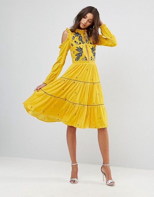 Discover Fashion Online Frock And Frill Smock Dress Dresses